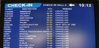 Airport Disruptions
