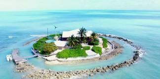 East Sister Rock Island