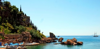 Antalya local Beach
