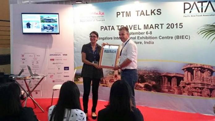 Andre van der Marck received the accolade on behalf of Khiri Travel