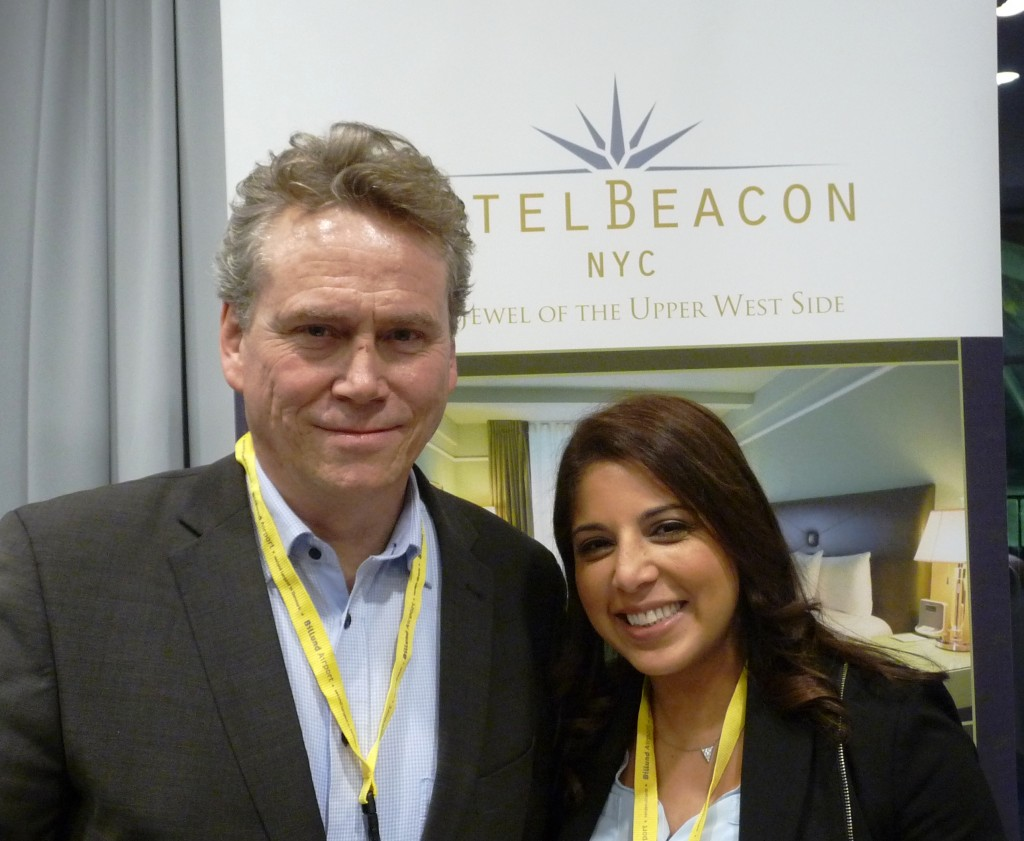 """Employees of the travel industry from all over Scandinavia have the option of 15-30 percent discount depending of the days until April 30 at the Hotel Beacon in New York."" It was told by Alexandra Rodriguez, Executive Assistant, Hotel Beacon to Michael Jensen, General Product Manager, Risskov Travel Partner."