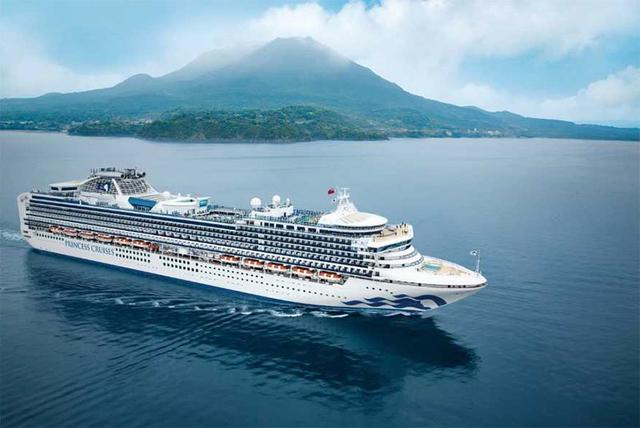 princess cruise corona