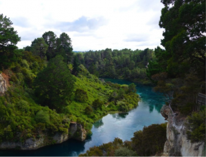 Taupo in New Zealand