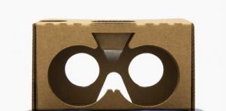 The Google Cardboard set